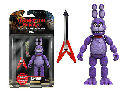 Fnaf Five Nights At Freddys Bonnie Articulated Action Figure Funko Licensed New