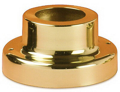 Brass Pier Base (Polished Brass Pier Mount)