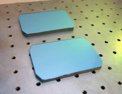 First Surface Laser Mirror 3.75 X 2.5 X .25 Bk7 Hr99.5 Rgb 5