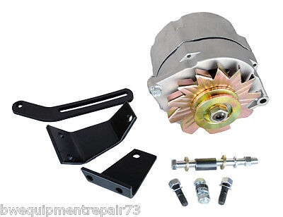 Lincoln Sa-200 Sa-250 One Wire Alternator 38 Pulley And Brackets Bw716-k