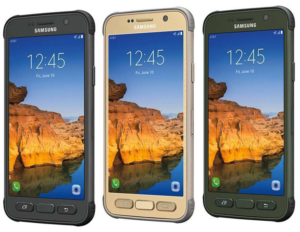 Samsung Galaxy S7 Active 32GB (SMG891A , GSM Unlocked) In Very Good Condition 8.5/10