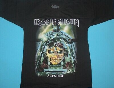 Iron Maiden - Aces High Best of the Beast Somewhere in Time t-shirt