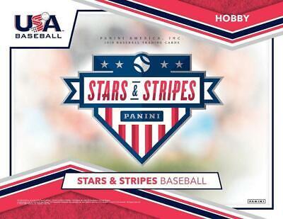 2019 Panini Stars Stripes USA Baseball Silhouettes Jersey Autos Pick From List (Baseball Silhouette)
