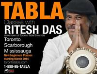 Tabla School in Toronto Mississauga and Scarborough