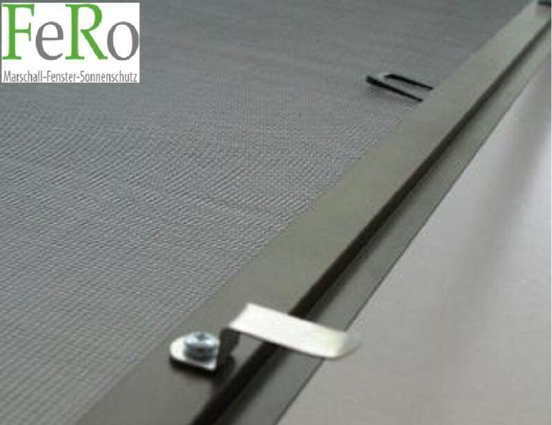 Fenster Insektenschutz Fliegengitter M/ücken Anthrazitgrau RAL7016 optimal f/ür Roll/äden Alu 100cm x 120cm, 13mm Einh/ängewinkel