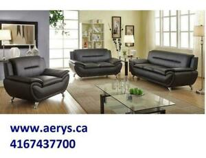 FURNITURE WAREHOUSE LOWEST PRICE WWW.AERYS.CA ,416-743-7700  sectional starts from $295, we also carry Ashley Furniture