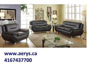 BRAND NEW 3PCS. SOFA SET ONLY FOR $649 AND 5PCS DINETTE SET STARTS FROM $199