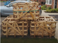 FREE 3 Large Wooden Crates Ideal for Upcycling Projects