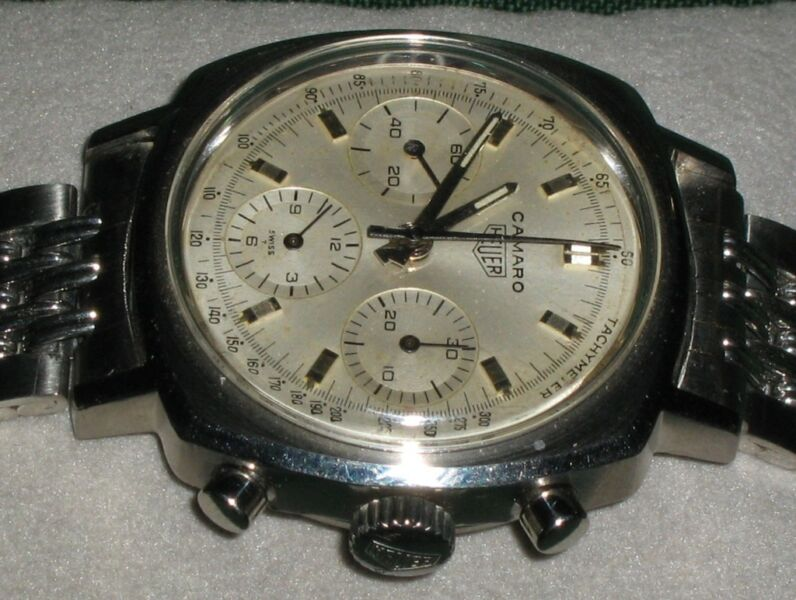 Wanted: HEUER CAMARO WATCHES WANTED
