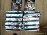42 HORROR DVDs job lot car boot