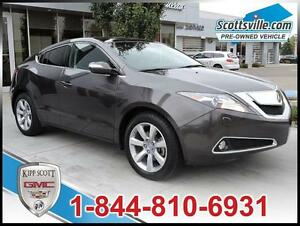 2010 Acura ZDX Tech Pkg, Leather, Nav, Power Liftgate, Smart Key