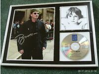U2 Boy framed collection set 42 x 32 cm