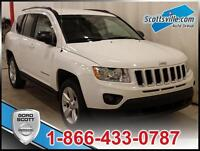 2013 JEEP COMPASS SPORT/NORTH; AWD, KEYLESS ENTRY AND MORE!