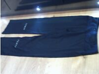 RONHILL training trousers size 10, black