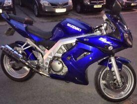 Suzuki sv650s k3 £1800