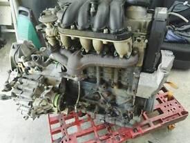 Golf 4 for parts engine, wheels, brake cylinders.