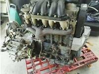 Golf 4 for parts engine, wheels, brake cylinders.