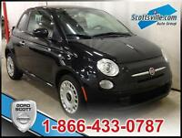 2012 Fiat 500 Pop, Cloth, 5 Speed, Fun!