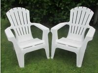 garden chairs 2 chairs recline back £30 pick up Maghull