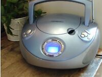 portable CD / RADIO player , mains or battery powered