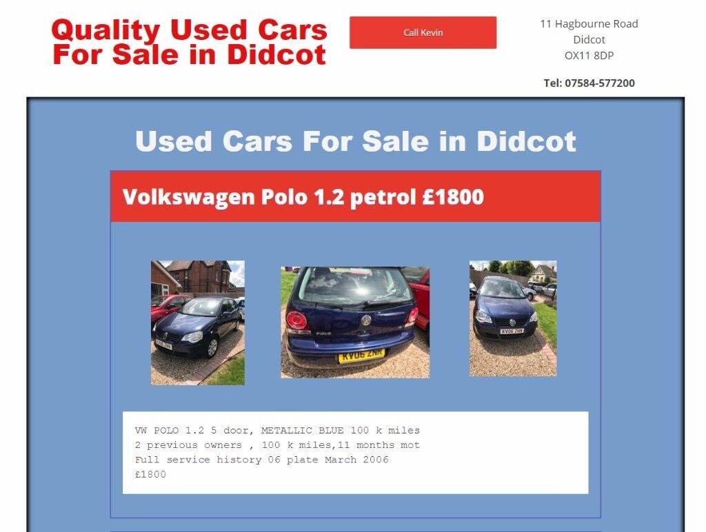 vw polo 1.2 petrol for sale £1650.00 ono