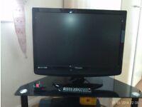 "19"" Portable Flat Screen TV"