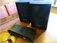 COMPLETE PA SYSTEM FOR SALE