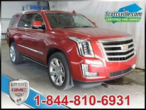 2015 Cadillac Escalade Premium, Nav, Sunroof, Leather, DVD