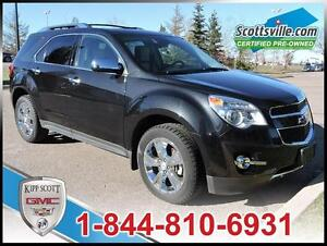 2013 Chevrolet Equinox AWD LTZ, Leather, Sunroof, Trailering