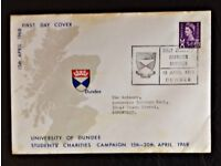 FIRST DAY COVER University of Dundee 1968