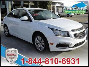 2016 Chevrolet Cruze Limited LT, Turbo, Cloth, Sunroof, Remote S