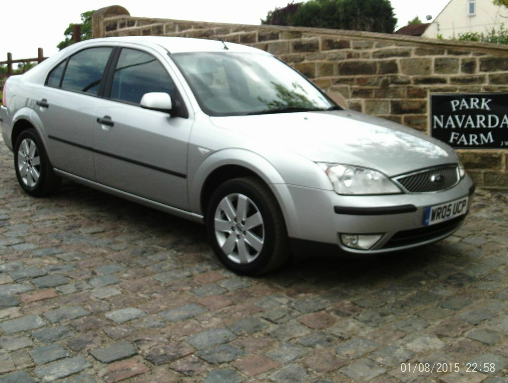 ford mondeo silver special edition 2005 05 reg in silver in killamarsh south yorkshire. Black Bedroom Furniture Sets. Home Design Ideas