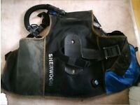 Scuba Sherwood Buoyancy Control Device