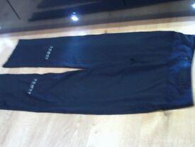 RONHILL training trouser size 10, black