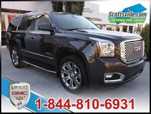 2016 GMC Yukon Denali, 6.2L V8, Nav, Sunroof, 22 Inch Wheels