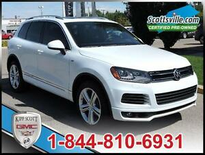 2014 Volkswagen Touareg Execline, R-Line Pkg, Leather, Sunroof