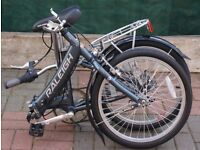 RALEIGH FOLDING UNISEX BICYCLE CLEAN LITTLE USED CONDITION BARGAIN ONLY £140, £299 NEW CAN DELIVER