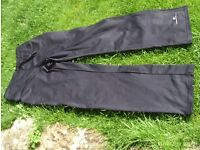 RONHILL training trousers size 10 black