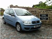 Fiat Punto Active In Blue. 2005 55 reg. 3 Door Hatchback. 1242cc
