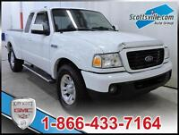 2009 FORD RANGER SPORT, CLOTH, A/C, CRUISE, 5 SPEED