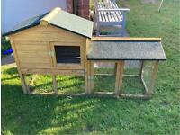 Rabbit or Guineapig hutch/run - Used but good condition