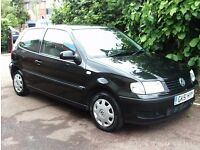 2001 1.0 LITRE VW POLO 1 PREVIOUS OWNER FROM NEW WITH FULL SERVICE HISTORY DRIVES LIKE NEW