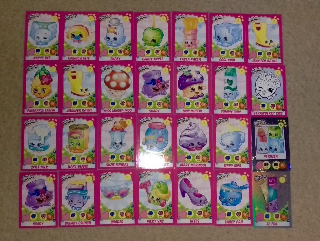 Shopkin Cards In Waterlooville Hampshire Gumtree