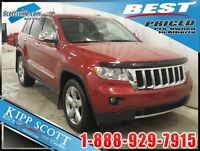2011 JEEP GRAND CHEROKEE LIMITED;SUNROOF,HEATED/COOLED LEATHER