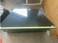 Black Tv stand For Sale - Can be FlatPack