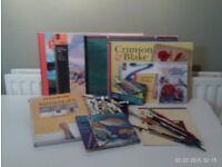 Bundle of Watercolour pads, paints, dvd