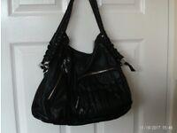 Large black hand bag