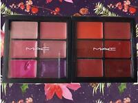MAC lipstick palettes