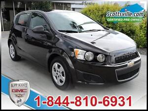 2014 Chevrolet Sonic LS, Cloth, Bluetooth, Automatic, One Owner!