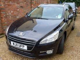 Peugeot 508 Estate. Good Condition. Low Mileage